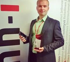 "Finn-ID:n ATTUNE Care -ratkaisulle ""Best Technical Solution 2014 -palkinto"""