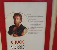 Hakusessa Chuck Norrikselle kollega