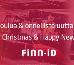 Finn-ID toivottaa hyvää joulua ja onnellista vuotta 2016!